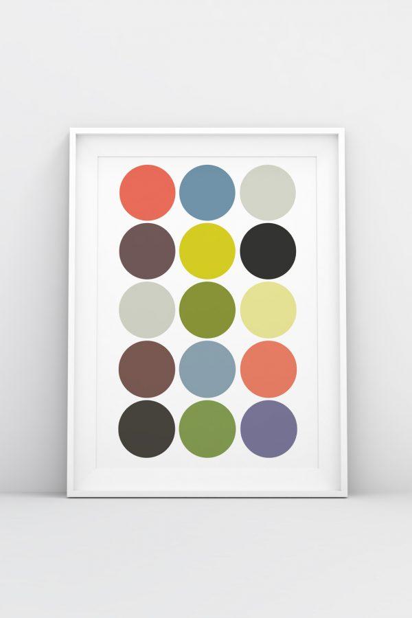 Pastels Print